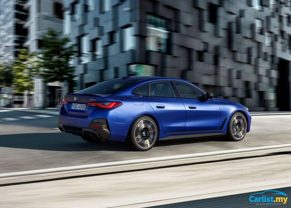 2021 BMW i4 M50 rear