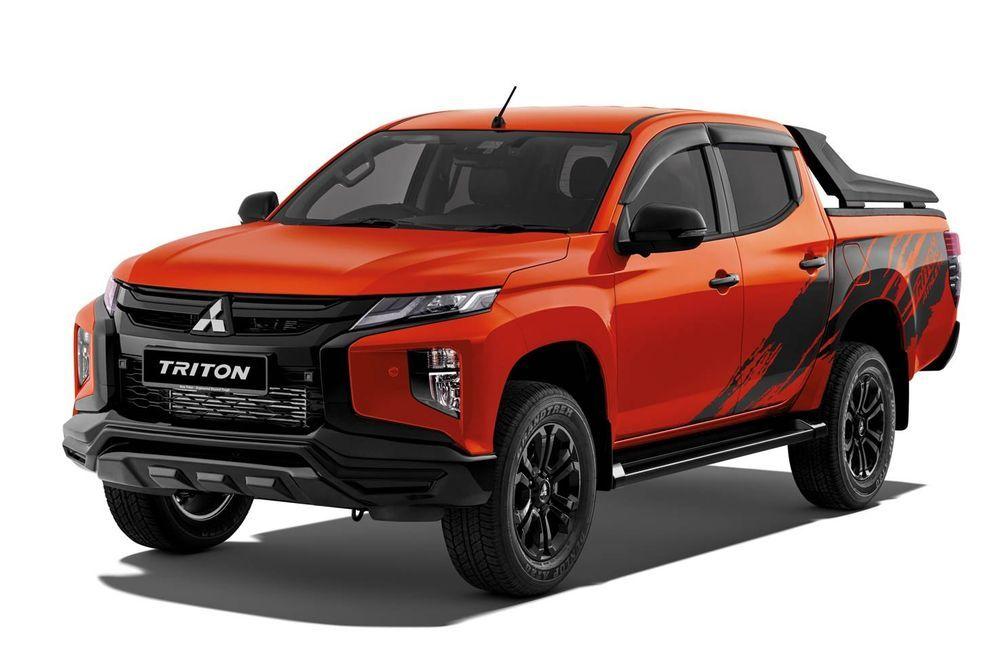 2021 Mitsubishi Triton Athlete