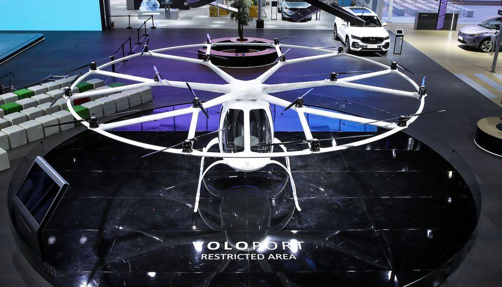 Volocopter 2X - Auto Shanghai