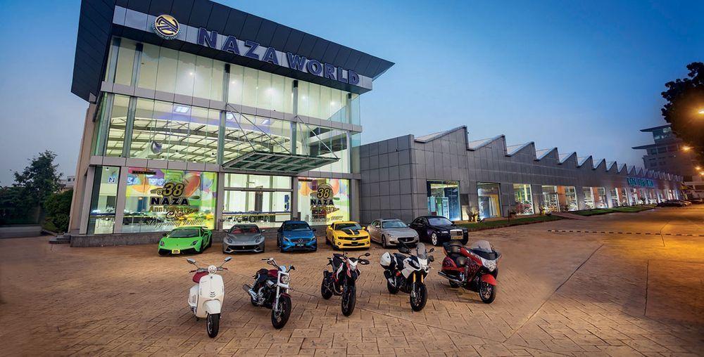 Naza World,Naza Auto Mall,Ferrari,Maserati,Mercedes-Benz,Maserati,Ducati,suzuki