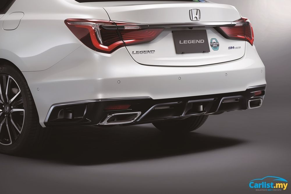 2021 Honda Legend EX With Honda Sensing Elite Rear