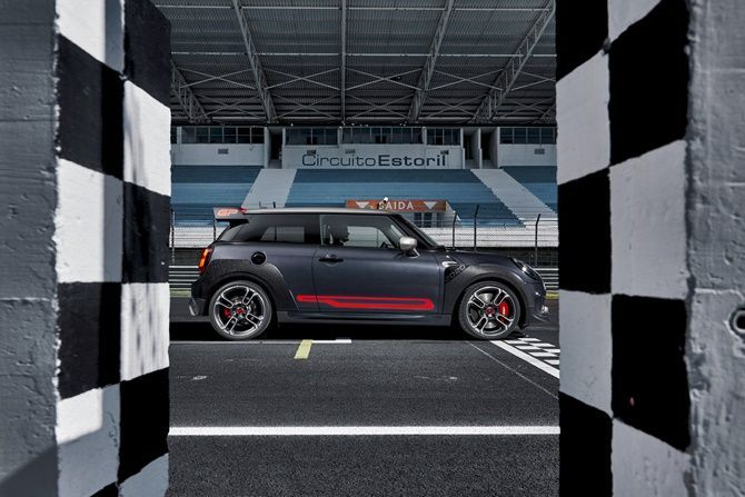 Will MINI Still Be Fun To Drive When They Are All Electric JCW GP Side View