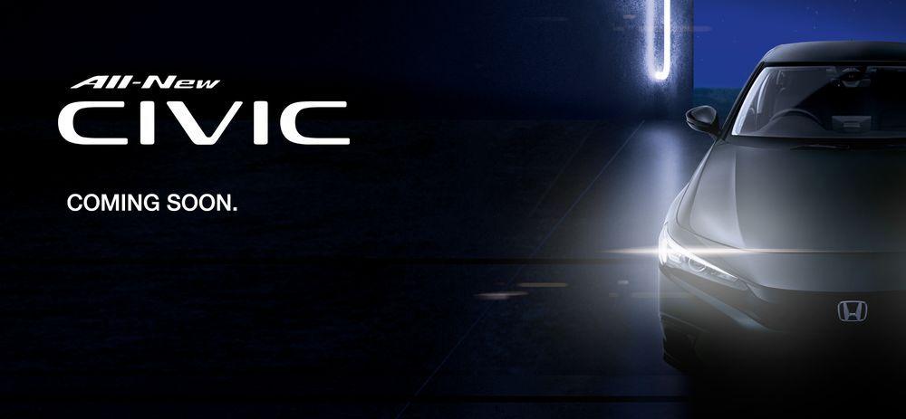 2021 Honda Civic Sedan - Singapore Teaser