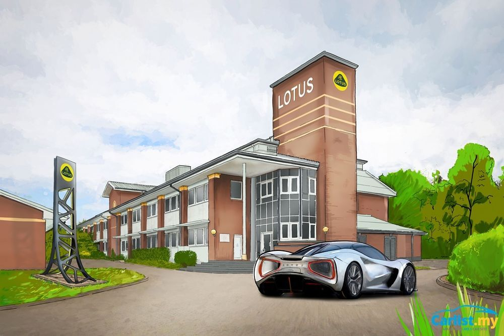 Lotus Evija Headquarters