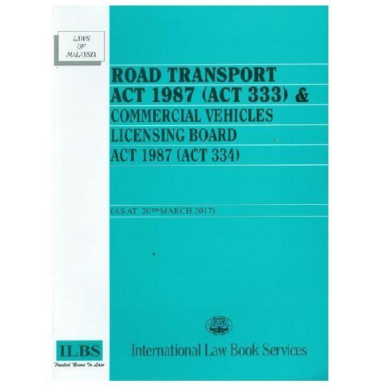 Malaysian Road Transport Act 1987