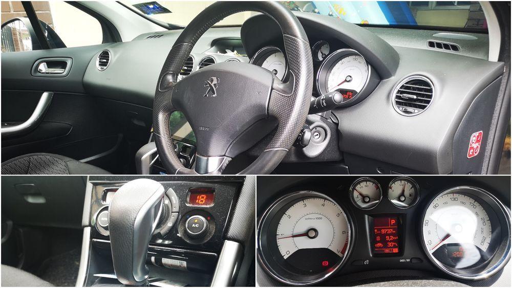 2012 Peugeot 308 1.6 THP Interior