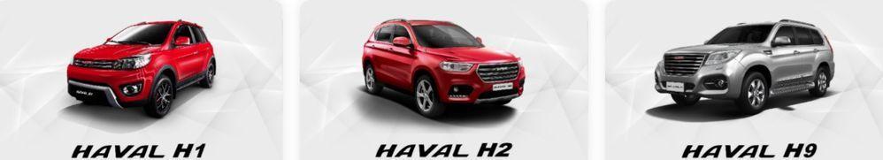 Haval SUVs Malaysia