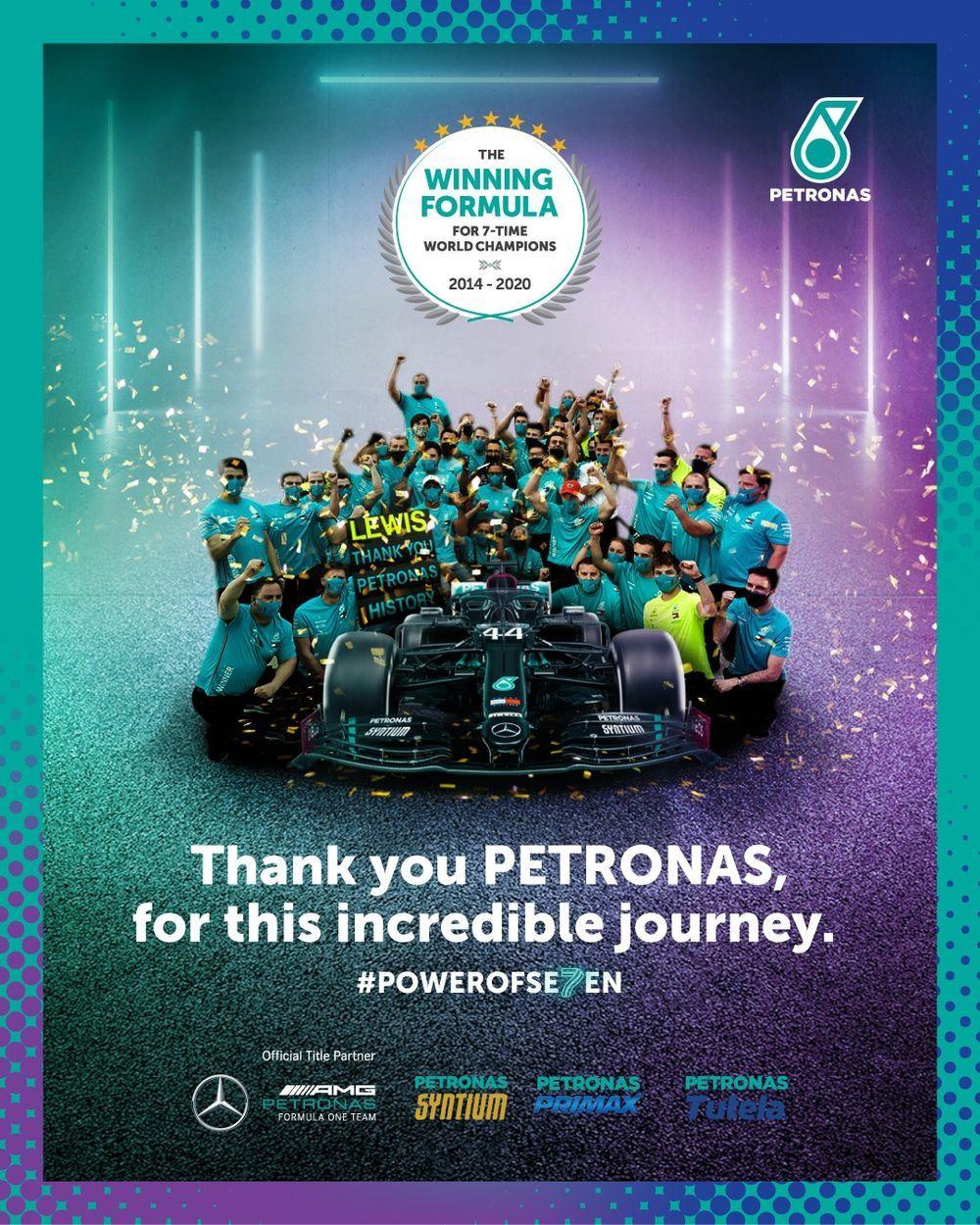 Petronas Motorsports Power of Seven