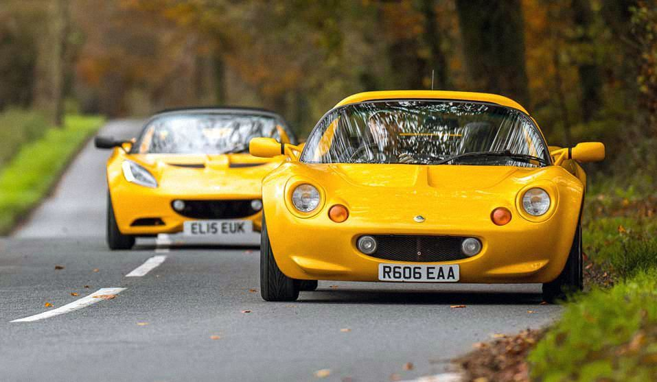 Lotus Elise Series II vs Series I