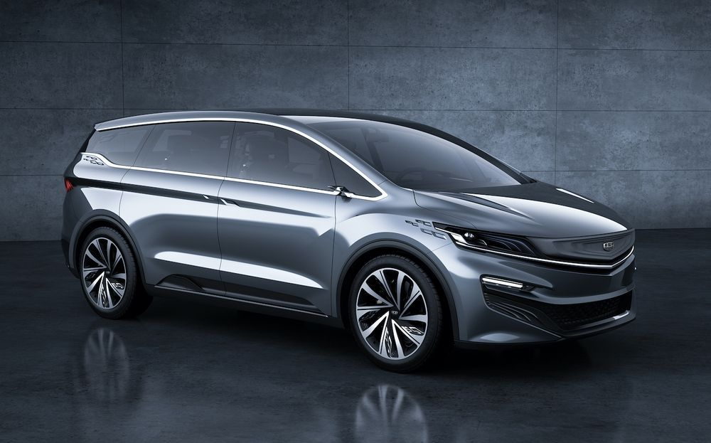 2019 Geely MPV Concept