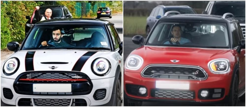 Manchester United Players and their MINI