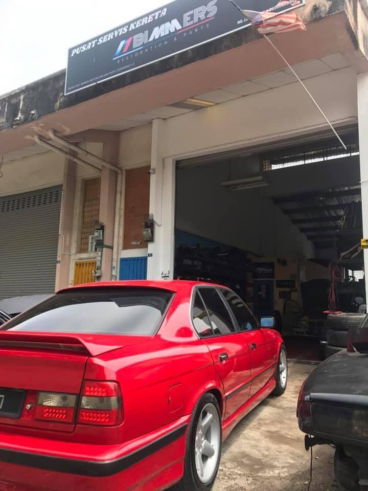 bimmers restoration and parts,bengkel kereta,lockdown