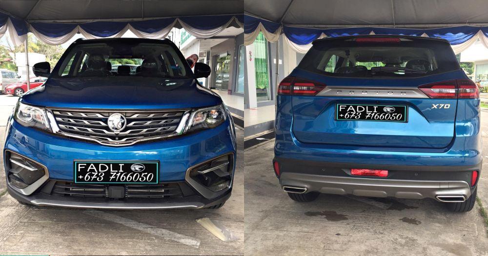 PROTON X70 EE,Exclusive Edition,Brunei,SUV,Ocean Blue