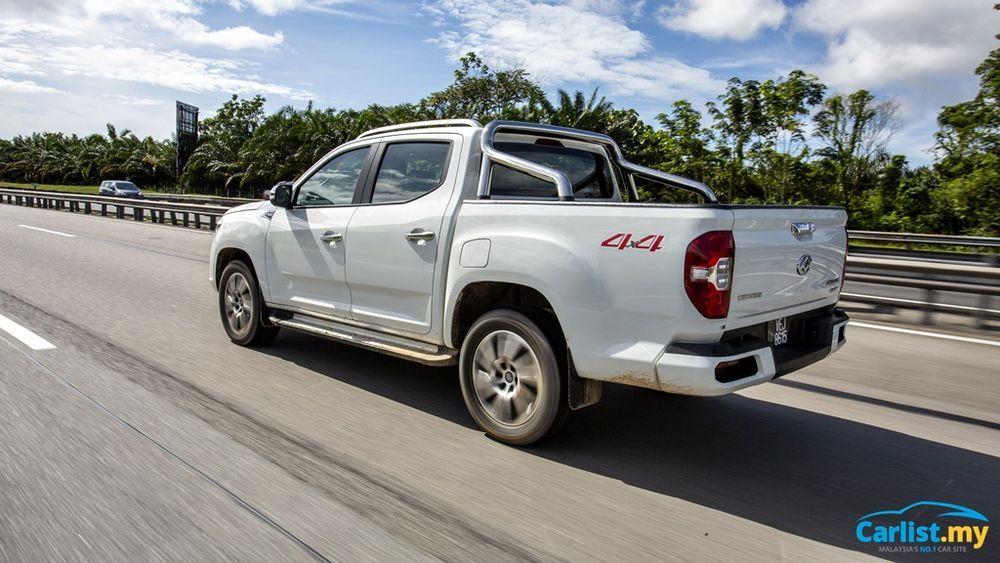 2020 Maxus T60 2.8L Driving