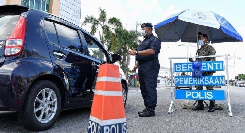 Roadblocks MCO 2 Malaysia