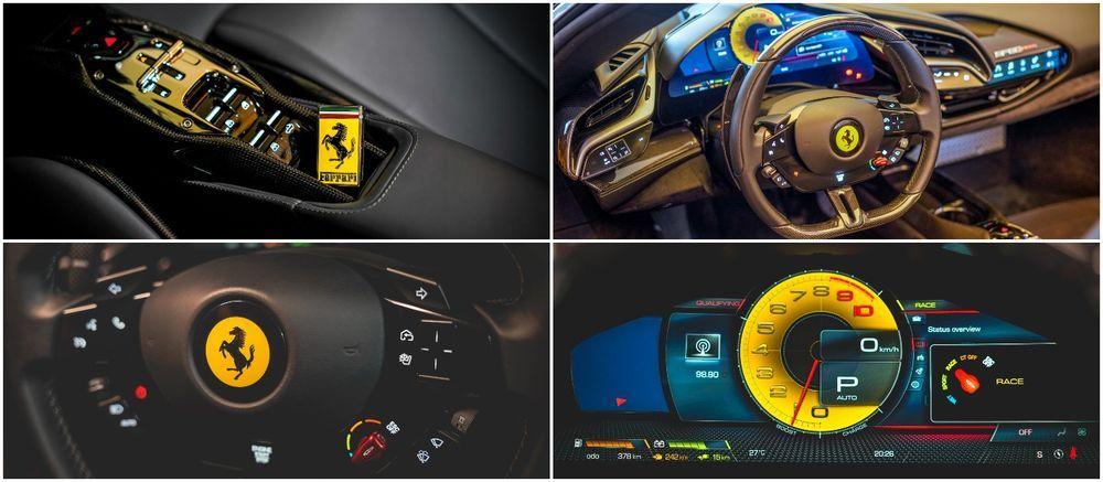 Ferrari SF90 Spider Malaysia driving modes