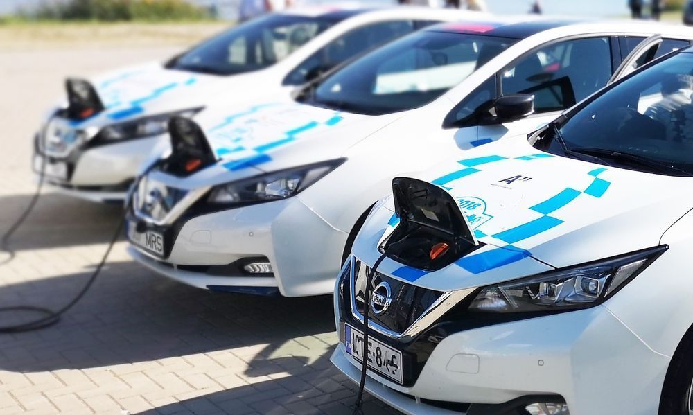 Nissan Leaf Fleet Charging