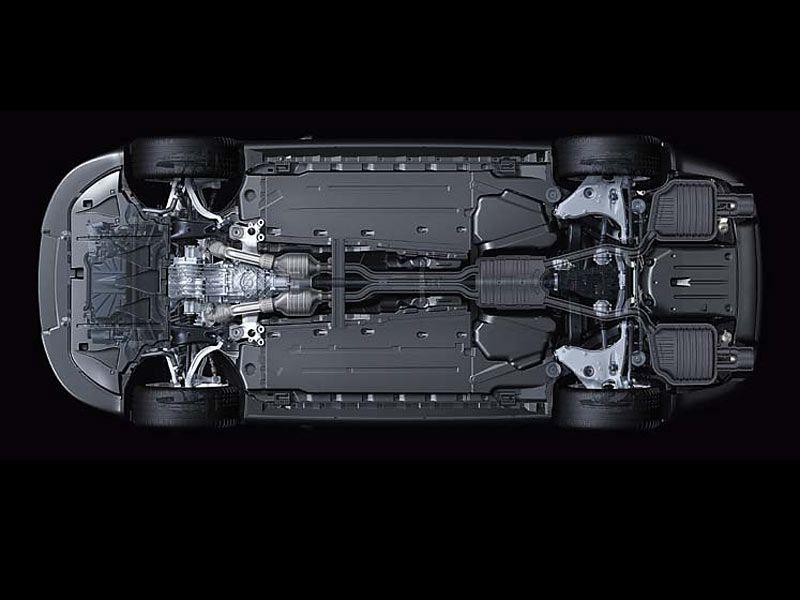 Audi Q5 underside