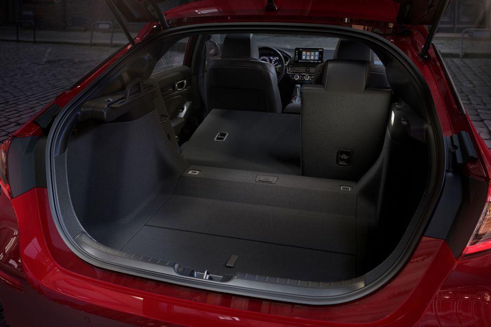 2022 Honda Civic hatchback folding seats