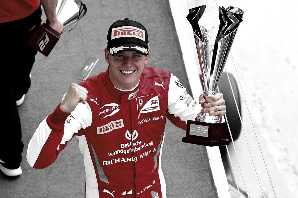 Mick Schumacher F2