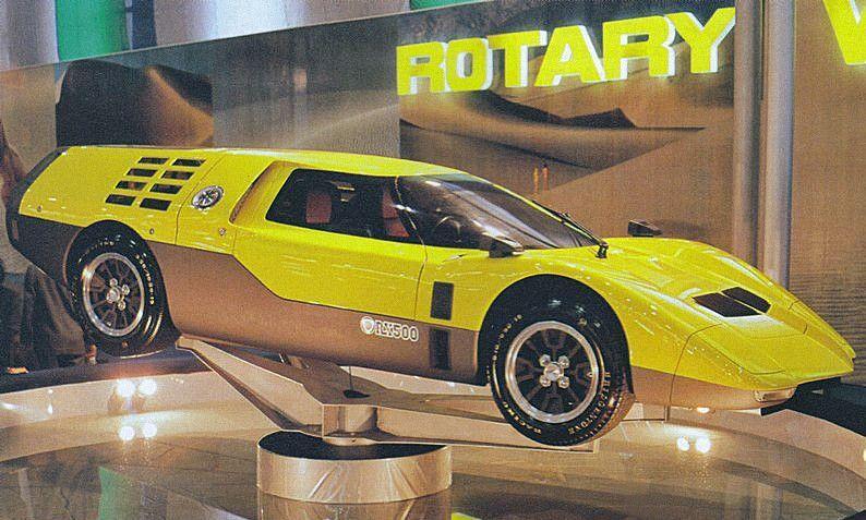 Mazda RX500 Rotary Racing Prototype