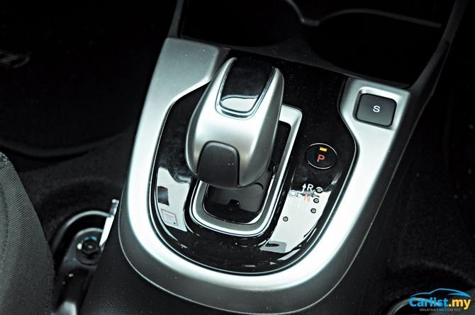 Review Honda Jazz Sport Hybrid There's No Boot Space Shift Lever