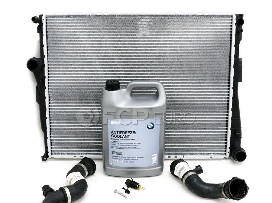 BMW Radiator Cooling