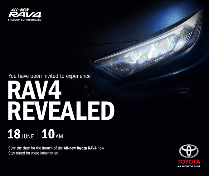 Toyota RAV4 Now Open For Booking Ahead Of Launch On June 18th Launch Details