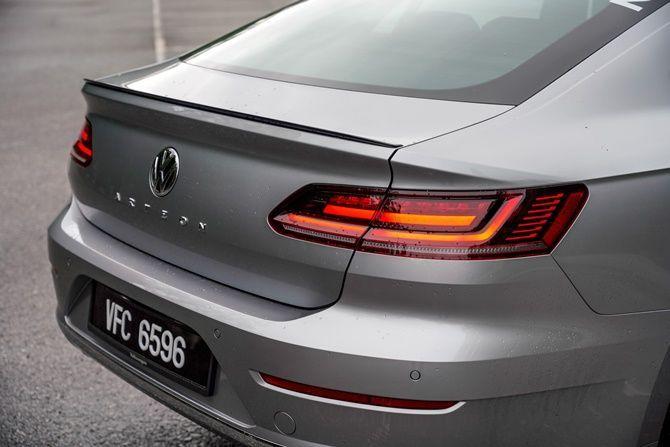 First Drive Volkswagen Arteon R Line Tailgate