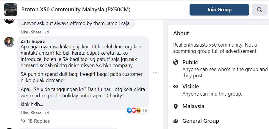 Proton X50 Community Malaysia