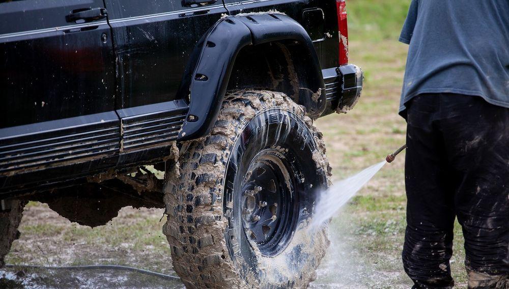 Muddy Tyres Wash