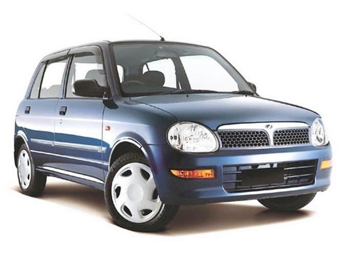 The Best First Car Perodua Kelisa Buying Guide Front Three Quarter Blue