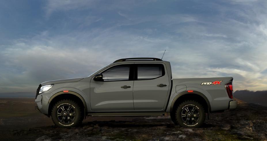 Nissan Navara facelift side profile