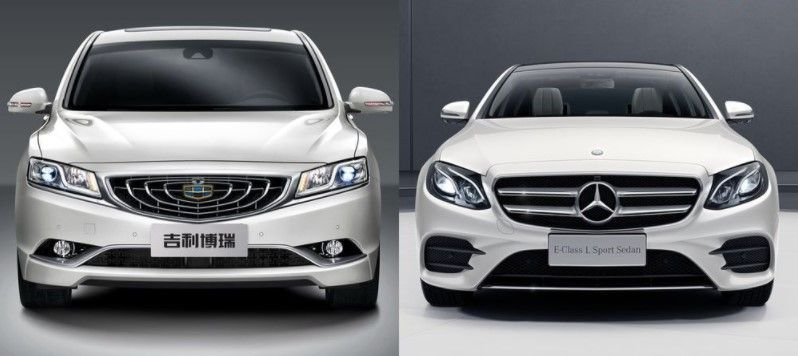 Geely and Mercedes-Benz