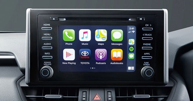 Left Field Heroes The Toyota RAV4 And Mazda CX 30 Infotainment