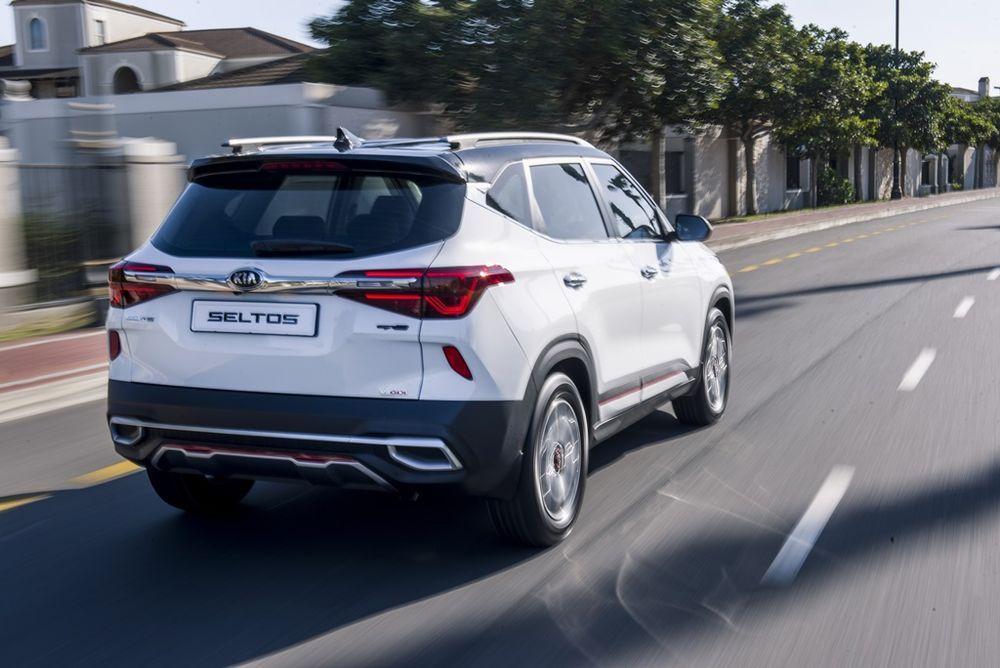 2020 Kia Seltos 1.6L MPI Driving