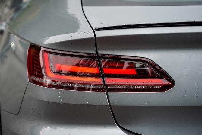 First Drive Volkswagen Arteon R Line Tail Light