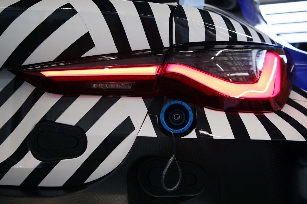 2020 BMW M4 GT3 Rear Lights