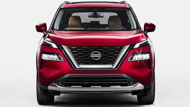 The All New Nissan X Trail Is Stunning Inside And Outside Front Shot