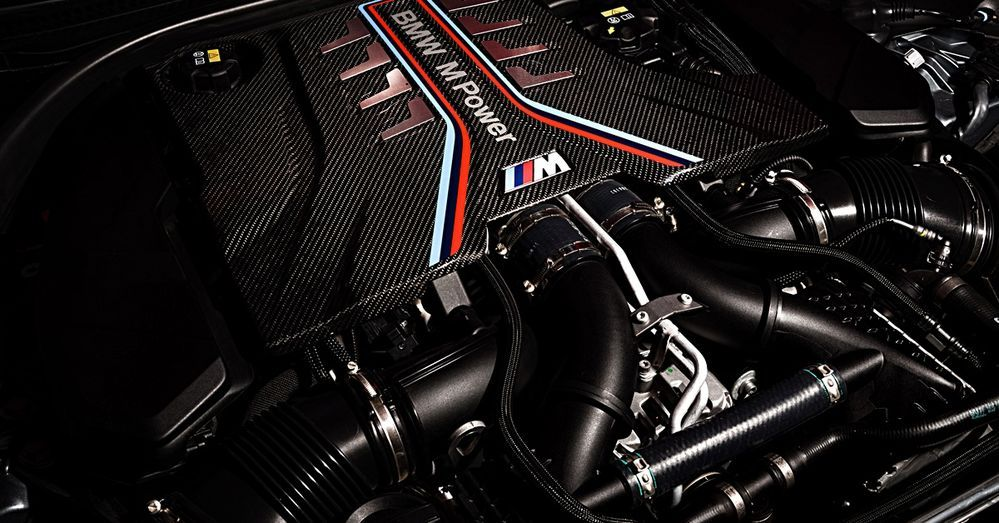 BMW S63 M5 Engine