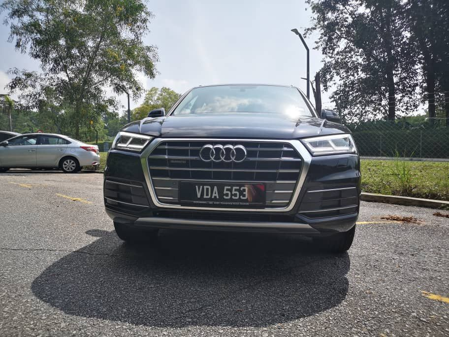Audi A5 2.0 Front View