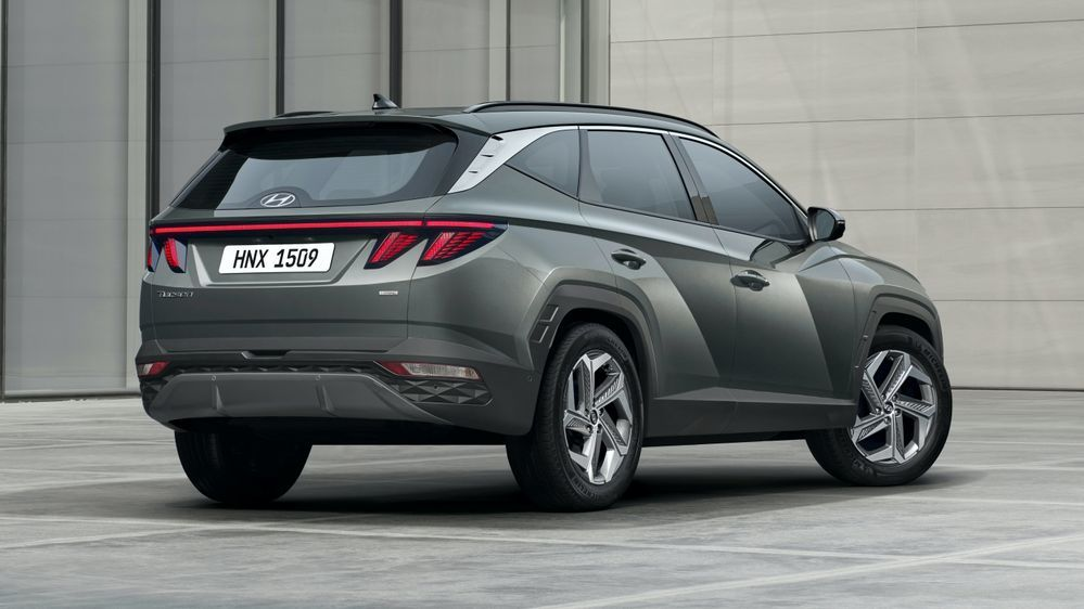 2021 Hyundai Tucson Rear