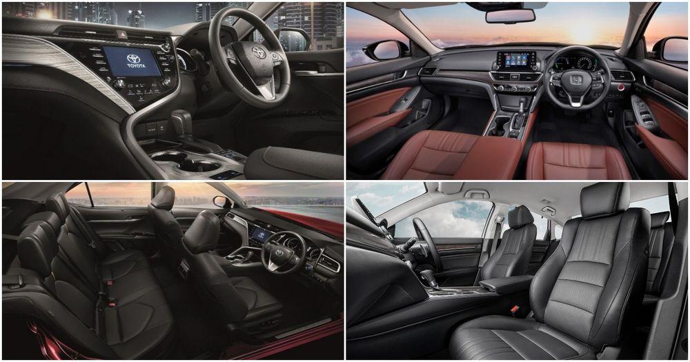 Camry VS Accord interior
