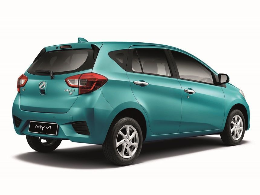 Perodua Myvi Price Drop: Which Variant to buy Myvi rear shot