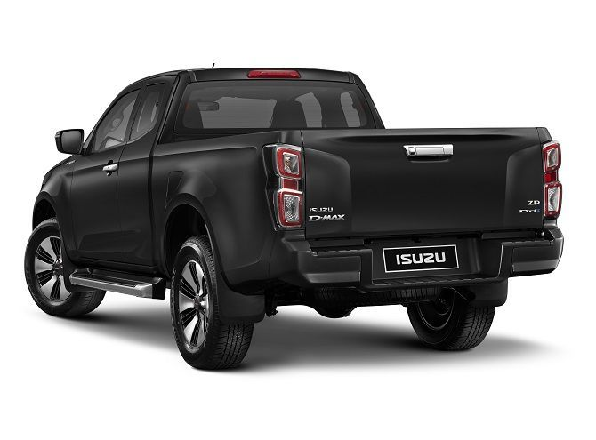 Isuzu D Max Takes The Lead In Thailand Rear Three Quarter