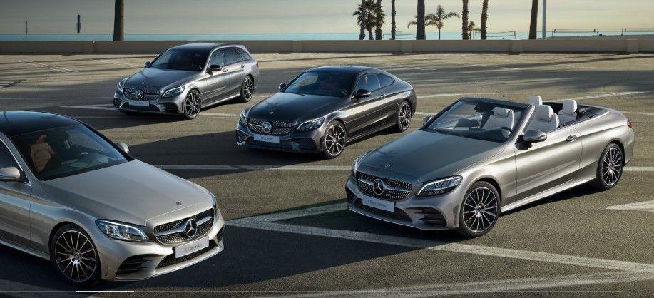 Mercedes body styles