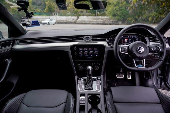 First Drive Volkswagen Arteon R Line Interior