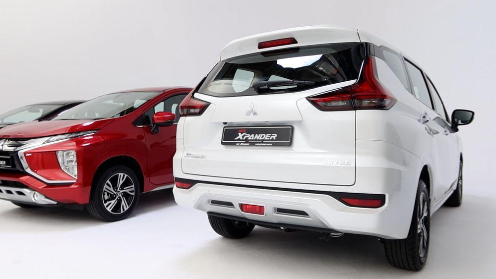 2020 Mitsubishi XPANDER rear