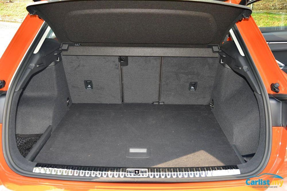 2020 Audi Q3 1.4L TFSI Boot