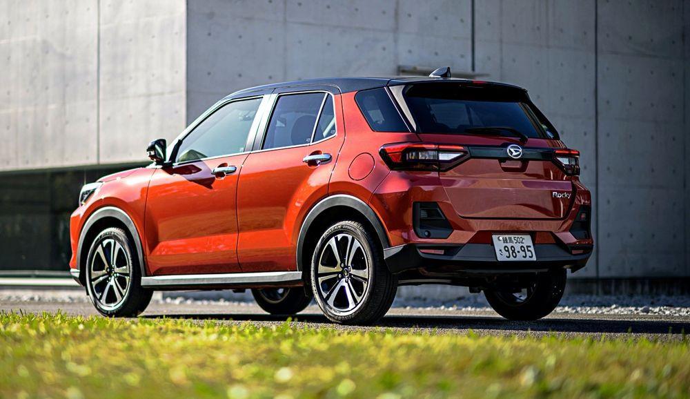 2021 Toyota Raize/Daihatsu Rocky Rear